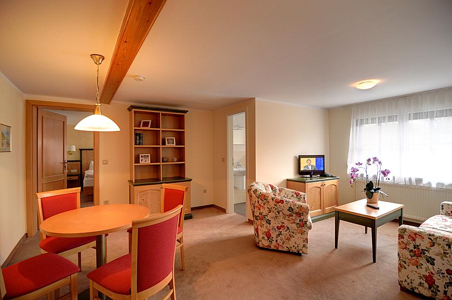 Apartments in der Ferienpension Seeblick im Ostseebad Sellin auf Rügen