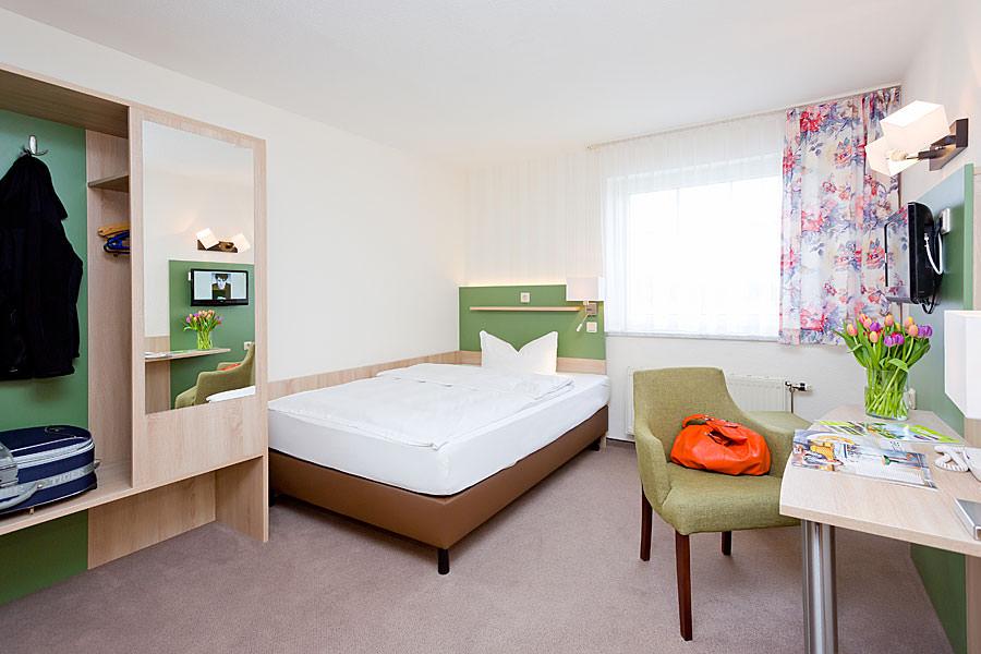 Doppelzimmer in der Ferienpension Seeblick beim Ostseebad Sellin auf Rügen