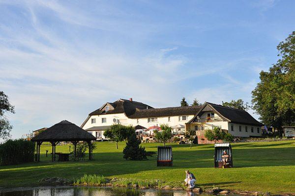 Ferienpension Seeblick in Neuensien beim Ostseebad Sellin auf Rügen