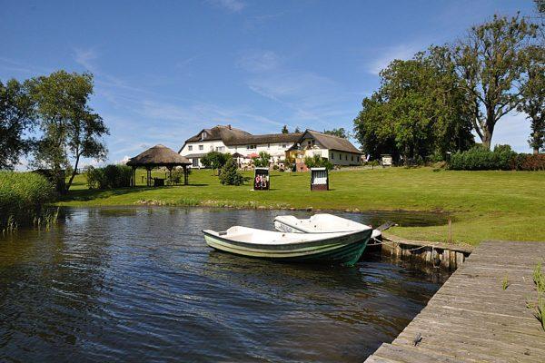 Urlaub direkt am Wasser in der Ferienpension Seeblick im Ostseebad Sellin auf Rügen